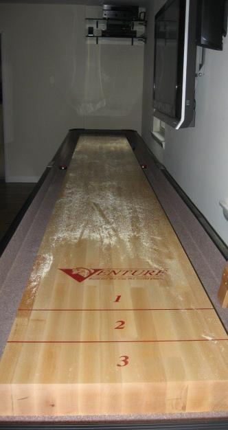 sandy shuffle board