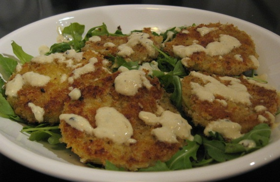 fried green finished