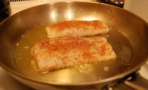 Cooking Cod