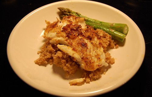 Plated Cod
