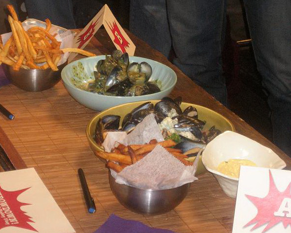 mussles frites
