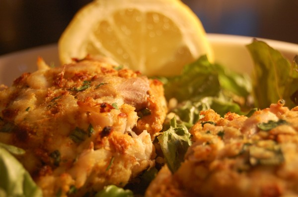 Plated Fish Cakes