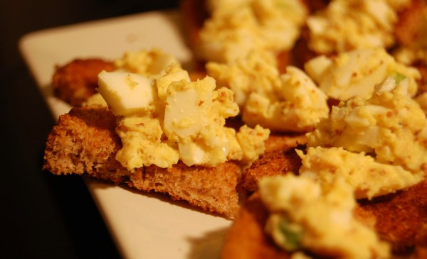 power hour food egg salad