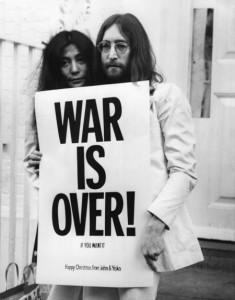 Yoko Ono and huzband