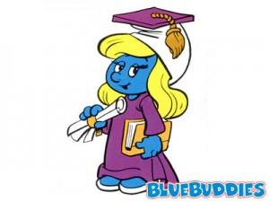 smurfs_color_pictures_graduate_smurfette