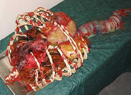 organs cake