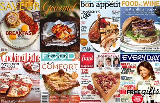 food magazines