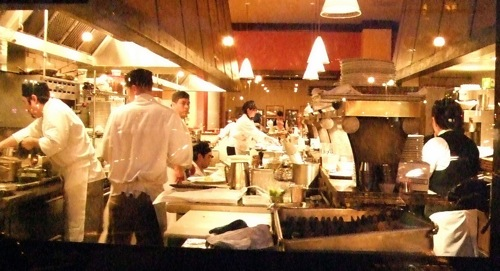 Busy Restaurant Kitchen what it's like to work the line at a restaurant