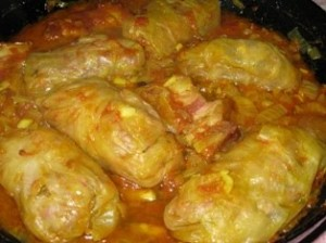 Serbia - Cabbage Rolls with Sour Cabbage