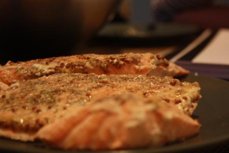 sous vide salmon