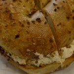 NYC garlic and onion bagel