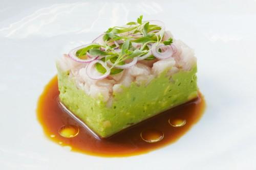 aja- hamachi guacamole
