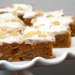 Pumpkin Chai Blondies