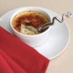 creme-brulee-with-napkin-plr
