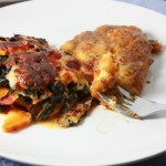 Sweet Potato and Swiss Chard Gratin