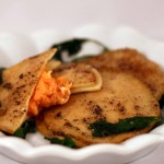 Sweet Potato and Goat Cheese Ravioli