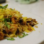 Smoky Sweet Potato and Lamb Biryani