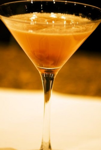 sweet potato martini