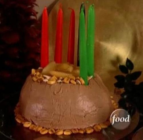 sandra lee kwanzaa cake