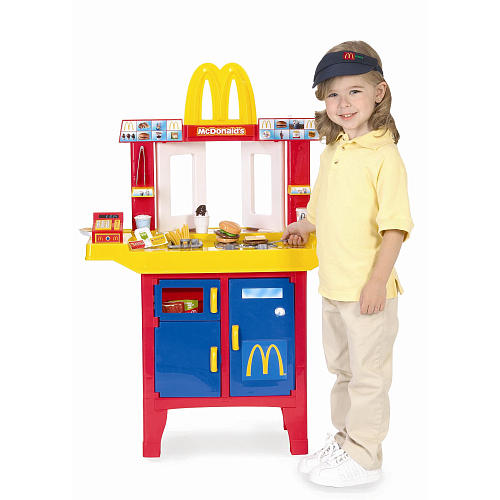 Toys R Us Play Dishes : Mcdonald s drive thru with play food