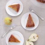 Caramel Pear Torte