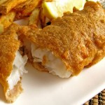 Guinness Battered Cod 500