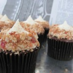 Superbowl bacon cupcakes