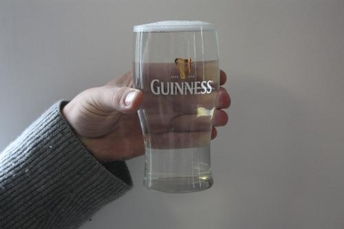 Crystal Guinness Glass