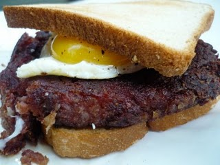 corned beef hashburger