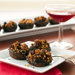 Chorizo Tequila Stuffed Mushrooms