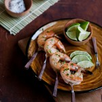 Citrus Tequila Shrimp Skewers
