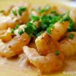 Tequila Mexican Cream and Chipotle Shrimp