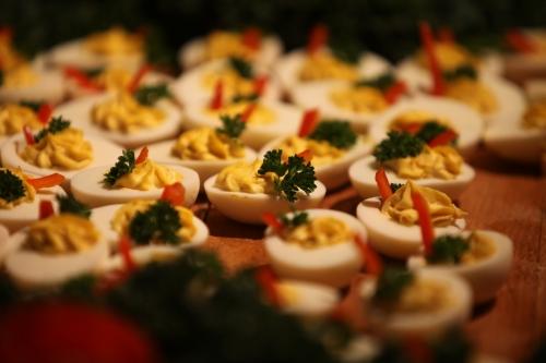 Kinnernet Deviled Eggs