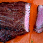 Grilled Tequila Garlic Lime Flank Steak