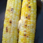 Grilled Corn with Tequila Lime Butter