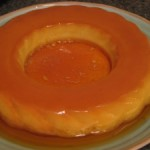 Mexican Flan with Tequila