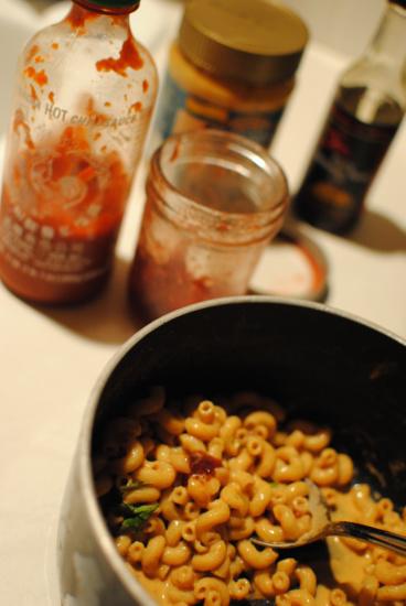 spicy pb&j noodles