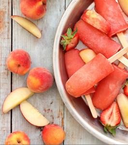 Strawberry Peach Vodka Peach Collins-Endless Simmer