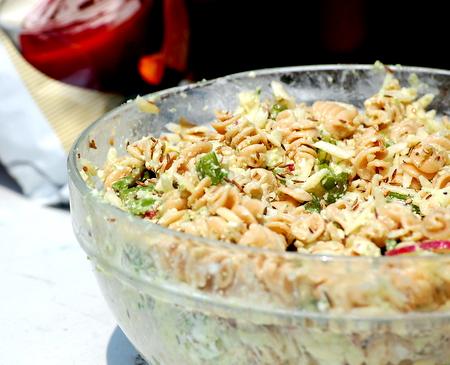 dry pasta salad