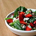 Strawberry Hazelnut Salad