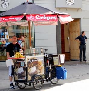 crepe bike stand