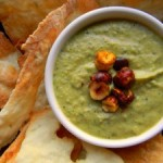 Garlic Zucchini and Fava Dip