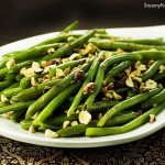 Green Beans with Garam Masala and Hazelnuts