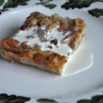 Hazelnut Bread Pudding