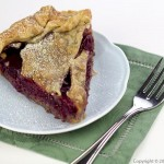 Hazelnut Plum Pie