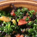 Kale, Blood Orange, and Hazelnut Salad