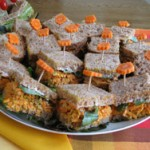 Nutty Carrot Sandwich