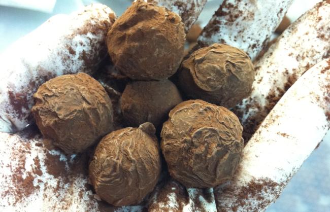 Cognac Truffles