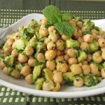 Avocado Lime Chickpea Salad