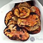 Grilled BBQ Potato Chips